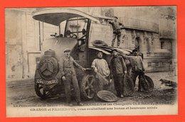 13 - MARSEILLE - LE PERSONNEL DE LA BENNE 1 VOUS SOUHAITENT UNE BONNE ET HEUREUSE ANNÉE - Old Professions