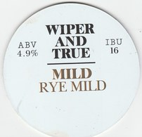 WIPER AND TRUE BREWING CO (BRISTOL, ENGLAND) - MILD RYE MILD - KEG CLIP FRONT - Signs