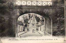 SEVRES -92 - L'Avenue De Bellevue Prise Du Parc De St Cloud - Animée - 76595 - Sevres