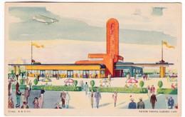CP796 A Century Of Progress, 1933 Illionis Chicago 139. Victor Vienna Garden Cafe - Chicago