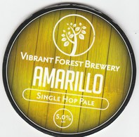 VIBRANT FOREST BREWERY (TOTTON, ENGLAND) - AMARILLO PALE - KEG CLIP FRONT - Signs