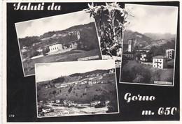 CARTOLINA - POSTCARD - BERGAMO - GORNO - SALUTI DA GORNO M. 650 - Bergamo