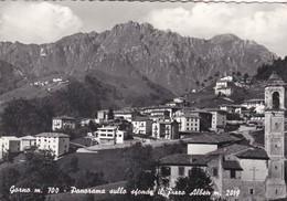 CARTOLINA - POSTCARD - BERGAMO - GORNO - M. 700 - PANORAMA SULLO SFONDO IL PIZZO ALBEN M. 2019 - Bergamo