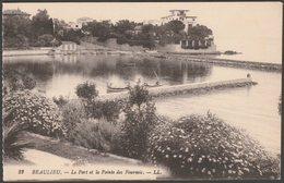 Le Port Et La Pointe Des Fourmis, Beaulieu, C.1910s - Lévy CPA LL22 - Beaulieu-sur-Mer