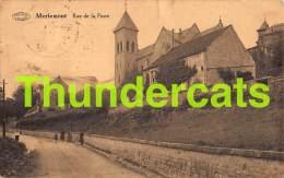 CPA MERLEMONT RUE DE LA POSTE - Philippeville