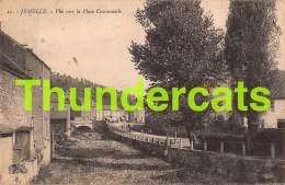 CPA JEMELLE VUE VERS LA PLACE COMMUNALE - Rochefort