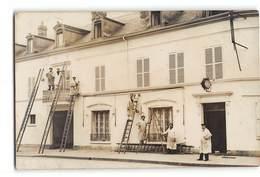 CPA-photo _ Bonnieres Sur Seine _ Hotel De La Poste _ Bon état - Bonnieres Sur Seine