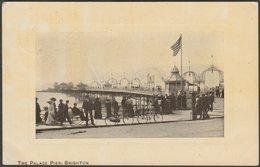 The Palace Pier, Brighton, Sussex, 1908 - Arcadia Bazaar Series - Brighton