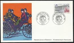 FDC Lettre Illustrée Premier Jour Paris Le 04/11/1995 N°2974 Automobile Club De France  TB Soldé  à Moins De 20 % !6 - 1990-1999