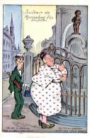 Humour - Souvenir De Mannaken-Pis, Bruxelles - La V'là En Pâmoison Quelle Nuit Vais-je Passer ? - Humour