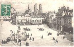 (45) Loiret - CPA - Orléans - La Place Du Martroi - Orleans