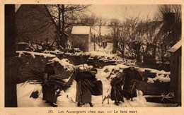Les Auvergnats Chez Eux.  Le Bois Mort. - Auvergne Types D'Auvergne