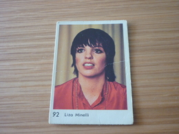 Liza Minelli Old MELO Greek '70s Game Trading Card - Trading Cards