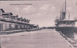 Indonésie, Aanlegsteiger Te Macassar, Sulawesi Du Sud, Paquebot (563) - Indonesia
