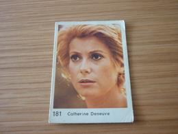 Catherine Deneuve Old MELO Greek '70s Game Trading Card - Trading Cards