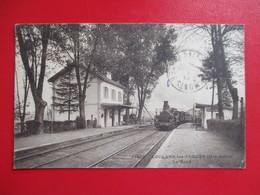 CPA 70 LOULANS LES FORGES  LA GARE  TRAIN - France