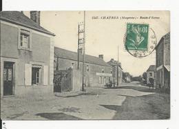Chartres  (Mayenne) Route D'Evron - France