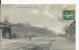 Montsurs  La Gare - France