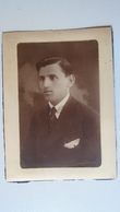 P1007.13  Hungary - Old Photo - Young Man -Fashion -Szemennyei Photo - Anonymous Persons