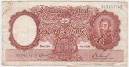 Argentina P 277 - 100 Pesos 1967 1969 - Fine - Argentina