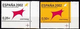2002, Spanien, 3702/03, Vorsitz Spaniens In Der Europäischen Union. MNH ** - 1931-Aujourd'hui: II. République - ....Juan Carlos I
