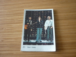 Bee Gees Music Old MELO Greek '70s Game Trading Card - Trading Cards