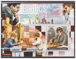 0576 Burundi 2012 Schaken Chess Schach Echecs Carlsen Anand S/S MNH - Schaken