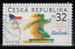 Tschechien 2016, Michel# 889 O Czech Olympic Team - Czech Republic