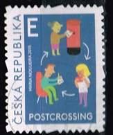 Tschechien 2015, Michel# 857 O Postcrossing - Gebraucht