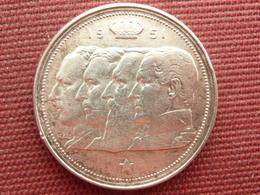 BELGIQUE  Monnaie De 100 Frs 1951 Belgie En Argent - 1951-1993: Baudouin I