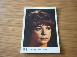 Shirley MacLaine Old MELO Greek '70s Game Trading Card - Trading Cards