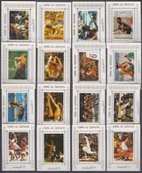 Umm Al-Quwain 1972 WHITE PERF EDL Mi # 938-53, Munich Summer Olympics (III), MNH OG - Verano 1972: Munich