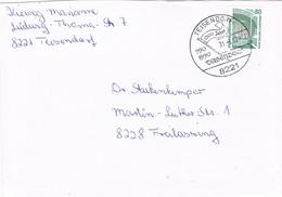 29022. Carta TEISENDORF (Alemania Federal) 1990, 1200 Jahre Teisendorf - [7] República Federal