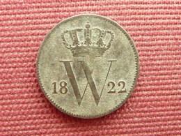 PAYS BAS Monnaie De 1 Cent 1822 B Année Rare - [ 3] 1815-… : Regno Dei Paesi Bassi