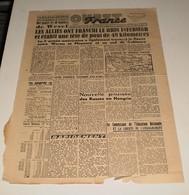 Ouest-France Du 26 Mars 1945. (Une Armée Tombée Du Ciel) - French