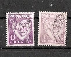 PORTUGAL 1931 Lusiadas 10 C Different Colours - 1910-... República