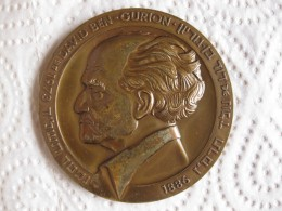 ISRAEL Medaille En Bronze 1973. DAVID BEN-GURION - Jetons En Medailles
