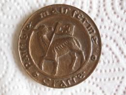 Medaille Ville De Grasse, Attribué Au Colonel Potet Robert En 1990 - France