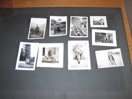 Motos Années 40/50/60 ? - Marques Diverses - 11 Photos N/b - Foto