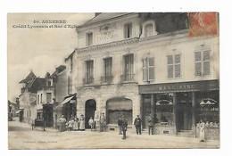 Auxerre - Crédit Lyonnais Et Rue D'Egleny - Plomberie Marc Aine - Auxerre