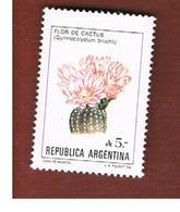 ARGENTINA - SG 1942   -   1985 FLOWERS: FLOR DE CACTUS  - MINT** - Argentina