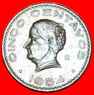 # BRONZE (1942-1955): MEXICO ★ 5 CENTAVOS 1954! LOW START ★ NO RESERVE! - Mexico