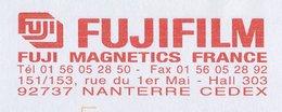 Meter Cover France 2003 Fuji Film - Magnetics - Photographie