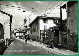 Ct 1504 - Pusiano (Brianza) - Via Mazzini - Animata - Como