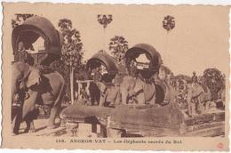 Angkor-Vat - Les éléphants Sacrés Du Roi - & Elephant - Cambodia