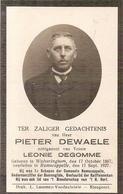 DP. PIETER DEWAELE ° WULVERINGHEM 1867 -+ RAMSCAPPELLE 1927 -1e SCHEPEN RAMSCAPPELLE - Religion & Esotérisme