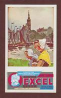BUVARD --  EXCEL - BISCOTTES - Collection Moulins Hollandais - 2 Scannes. - Zwieback