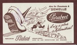 BUVARD --  PARABOOT - Chaussures - Richard Pontvert à IZEAUX . Isère - LE THILLOT. 88 - 2 Scannes. - Shoes