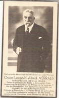 DP. OSCAR VERRAES ° BRUSSEL 1855 - + VEURNE 1935 - BURGEMEESTER VEURNE - DOKTOR IN GENEESKUNDE - Godsdienst & Esoterisme