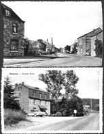 Hampteau - Lot 2 Cartes - Grand'Rue, Pension Sovet (oldtimer, Américaine) - Hotton